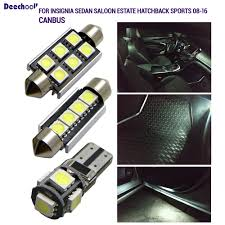 Miata Led Interior Lights Us 8 62 29 Off 23pcs Canbus License Plate Lamp Drl Interior Lights Bulbs For Opel For Insignia Sedan Saloon Estate Hatchback Sports Tourer 09 In