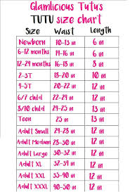 Tutu Measurement Chart Pink Poodle Skirt Tutu Newborn Adult Listing Poodle Skirt