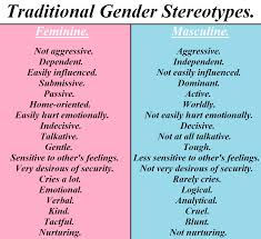 women gender and the media melissasekulovski traditional gender stereotypes by thearchosaurking d5e5ctd