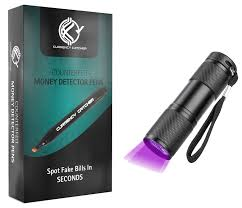 Fake Money Detector Light Galleon 12 Pack Counterfeit Pens With Uv Light