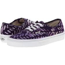 vans shoes black and purple. vans authentic multi/true white) skate shoes, purple ($30) ❤ liked shoes black and s