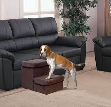 image of foldaway pet stairs for small dogs
