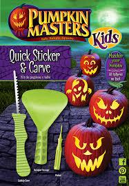 pumpkin carving tools for kids. quick sticker \u0026 carve pumpkin carving kit tools for kids n