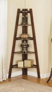 corner shelves furniture. Great Espresso Finish Wood Corner Shelf Unit, Measures X H. Some Assembly Ddceqwq Shelves Furniture R