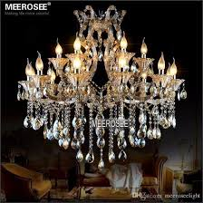 modern maria theresa crystal chandelier light cognac led crystal re 18 light lamp for lobby stair hallway project md2225 antler chandelier