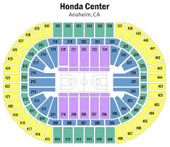 Anaheim Pond Seating Chart Honda Center Seating Chart Views And Reviews Anaheim Ducks