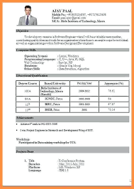 Resume Samples For Freshers Engineers Pdf Electrical Engineering