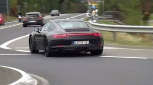 2018 porsche carrera. wonderful carrera 2018 porsche 911 gts spied testing on the nurburgring nordschleife   youtube on porsche carrera