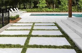 designing with large concrete pavers