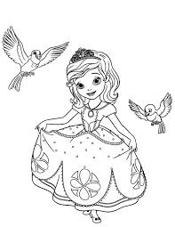 sophia the first coloring page the first coloring pages robin and a princess sofia mermaid coloring sophia the first coloring page
