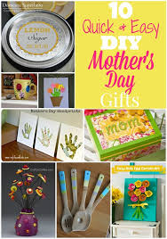 domestic superhero 10 quick and easy diy mother s day gifts
