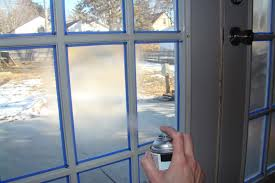 Diy Frosted Glass Door Cindy Riddle Frosted Glass On French Doors