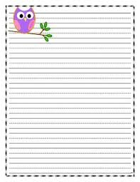 best colorful and cute paper for projects images owl writing paper lined paper owl theme