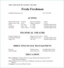 Actor Resume Template Word Best Acting Resume Template Cteamco