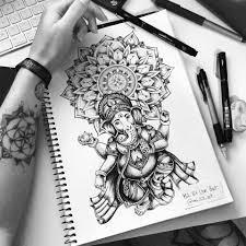 Ganesh Mandala Tattoo Commission On Behance