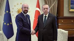 04.03.2020 - Charles Michel & Recep Tayyip Erdoğan - Flüchtlinge an der  türkisch-griechischen Grenze - YouTube
