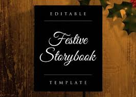 After Effects Story Book Template Festive Storybook Opening After Effects Template