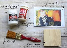 diy for less wooden photo display by house by hoff