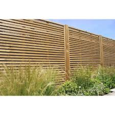 fence panels. Plain Panels Venetian Fencing Situated In A Garden Intended Fence Panels D