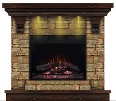lovely infrared fireplace with additional eugene aged coffee wall electric mantel fireplaces wooden surround kettle reviews