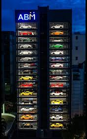Luxury Car Vending Machine Classy World's Largest Luxury Car Vending Machine Can Store Up To 48