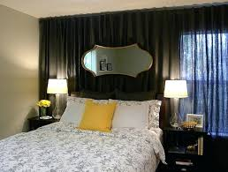 bedroom curtains behind bed. Black Bedroom Curtains Behind Bed In Small Design Uk R