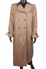 Burberry Sizing Charts Trench Coats Details About Burberry Mens Coat Vintage Epaulets Beige Size Xl