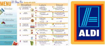 weekly meal planning for two 21 day fix aldi meal plan and shopping list weight loss program