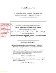Sample Resume For Restaurant Manager 60 Restaurant Manager Resume Sample Free Free Sample Resume 54