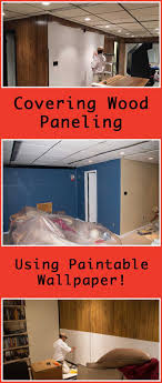Painting Fake Brick Paneling Best 20 Cover Wood Paneling Ideas On Pinterest Painting Wood