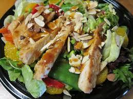 Mcdonalds premium asian salad