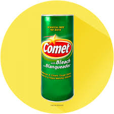 comet cleaner with bleach powder
