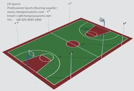 painting material for basketball court installation pictures photos