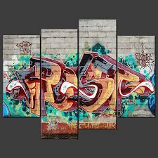 graffiti canvas wall art
