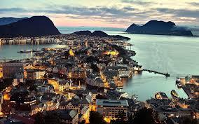 Hình nền : phong cảnh, Hoàng hôn, Cảnh thành phố, Bay, tối, Bờ biển, thị  trấn, Alesund, chụp ảnh trên không 1920x1200 - chibi - 212359 - Hình nền  đẹp hd - WallHere
