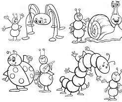 Small Picture Bugs Unique And Funny Coloring Pages For Kids uC bug colouring