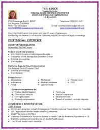 Resume Format Spanish Therpgmovie
