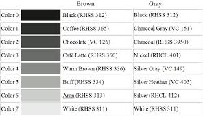 50 Shades Of Gray Color Chart Choosing The Right Yarn Colors For Your Crochet Photo