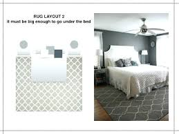 rug placement under bed rug under bed the rules of rug layout it must be big rug placement under bed