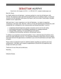 Emailing Resume Template Aircraft Mechanic Cover Letter Examples Work Experience