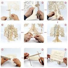 Sign Book For Wedding Family Tree Wedding Guest Book 3d Wooden Guest Sign Book Rustic Wedding Pa O4o7