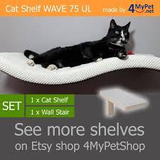 wave 75 ul set 11 cat shelf cat shelves