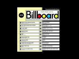 Billboard Top Pop Hits 1970