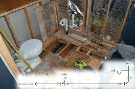 basement shower drain shower drain vent enter image description here shower drain vent diagram shower drain basement shower drain