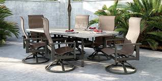 size patio dining table for