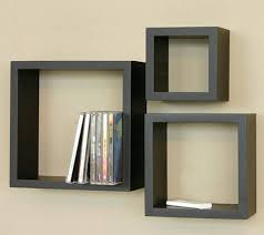 ... Nice Design Floating Cube Shelves Pretentious Floating ...