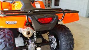 2018 honda foreman 500. interesting honda 2016 honda fourtrax foreman 500  atv walk around video trx500fm1g orange inside 2018 honda foreman