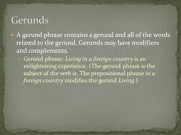 Gerunds And Gerund Phrases Worksheet - Checks Worksheet