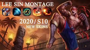 Lee Sin Montage <b>2020 S10</b> (<b>NEW</b> SKINS) Best Lee Sin Plays ...