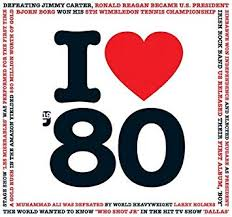 Compilation 1980 Birthday Or Anniversary Gift I Love